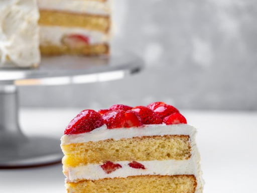 Торт Йогурт-клубника