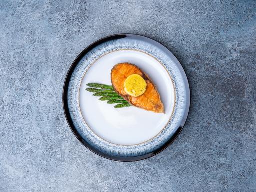 Стейк из фарерского лосося